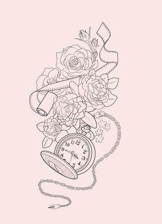 Tattoo Design by Martine Strøm, via Behance