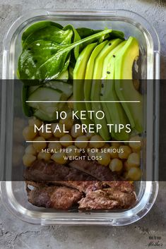 10 Keto Meal Prep Tips You Haven't Seen Before + 21 Keto Recipes Meal prepping for the week? These are the meal prep tips you need now to stay low carb & on budget while losing weight on the ketogenic diet! It doesn't matter if you're a beginner or you've been doing keto for years; you'll love these ketogenic recipes for breakfast, lunch, and dinner that are perfect for meal prep! With 21 easy keto recipes