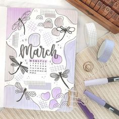 Bullet Journal Title Page, Bullet Journal 2019, Bullet Journal Notebook, Bullet Journal Spread, Bullet Journal Ideas Pages, Bullet Journal Inspiration, Book Journal, Bujo, My Themes