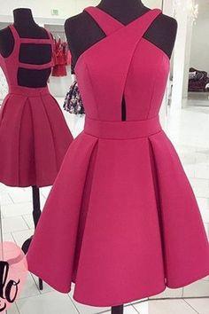 2017 New Open Back Off the Shoulder Short Prom Dress Homecoming Dresses LD288