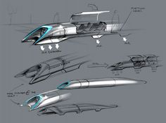 Hyperloop, transportation concept by Tesla's Elon Musk