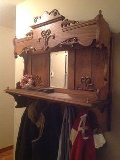 Repurposing an Antique Pump Organ Hutch