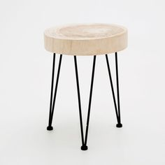 ROUND TRUNK-STYLE STOOL