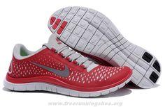511457-600 Gym Red Sail Reflect Silver Mens Nike Free 3.0 V4 201
