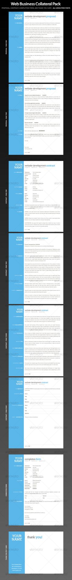 14 best Corporate Proposal Templates for Inspiration images on - Sample Contract Proposal Template