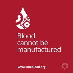 There is no substitute for blood and that's why your donation is so important. #donate #blood #savelives #health #every56days