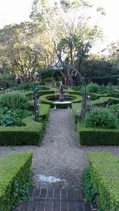 Parterre garden at Darley's Katoomba