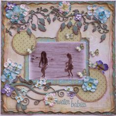 Water Babies **DUSTY ATTIC** - Scrapbook.com