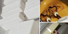 Πώς να φτιάξουμε μια φανταστική υφασμάτινη κούκλα στολίδι! Οδηγίες Βήμα Βήμα + Πατρόν. - Toftiaxa.gr - Φτιάξτο μόνος σου - Κατασκευές DIY - Do it yourself Decoupage, Plastic Cutting Board, Container, Food, Christmas, Beauty, Xmas, Essen, Navidad