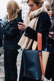 Celine twisted cabas bag