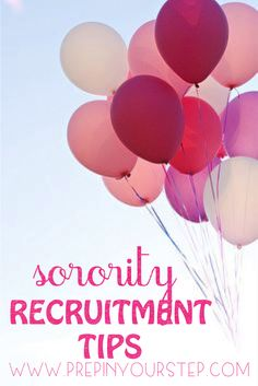 Prep In Your Step: Sorority Recruitment Tips + An Outfit Idea Sorority Recruitment Tips, Sorority Rush, College Sorority, Sorority Gifts, Sorority Canvas, Sorority Paddles, College Essentials, College Hacks, Dorm Life