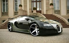 Bugatti Veyron one of the most exspensive & fastest cars in the world.