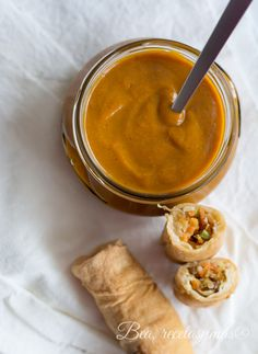 Salsa de manzana y curry