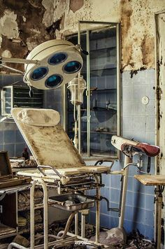 We think hygiene may be a slight problem with this Hospital perhaps a little dusting or a wet wipe will fix the problems