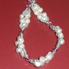From Beadforester (Deb) - first pearls for my daughter