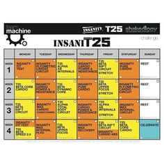 Excellent hybrid of insanity and focus t25, I'm doing this now absolutely kick my butt!