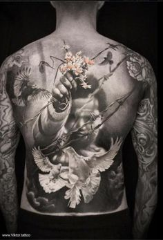 #Tattoo #Männer #Rücken