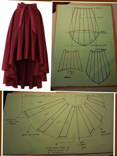 28 Ideas for skirt fashion couture sewing patterns Dress Sewing Patterns, Clothing Patterns, Pattern Sewing, Modern Sewing Patterns, Skirt Patterns, Costume Patterns, Free Pattern, Diy Clothing, Sewing Clothes