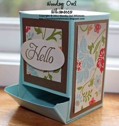 Treat Dispenser Box  http://www.thedigichick.com/shop/Candy-Dispenser-Template-Set.html