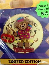 Disney pin - HKDL 2014 Disneyland Mid-Autumn Festival LE 300 Pin - Duffy Bear