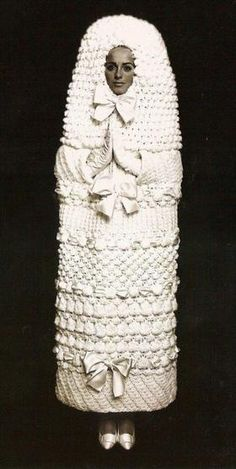Lol! 1960s: Yves Saint Laurent Wedding Dress