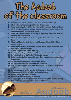 7 HABITS.....  http://www.islamicposters.co.uk/islamic-educational-posters.html