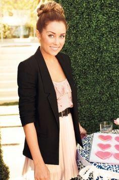 Cute dress and blazer..