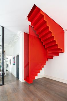 75 Modern staircase ideas: Transform your staircase into something extraordinary | Livingetc New Staircase, Modern Staircase, Staircase Ideas, Staircases, Floating Staircase, Contemporary Design, Modern Design, Contemporary Architecture, His And Hers Sinks