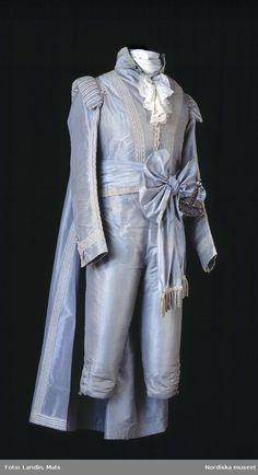 Gustav III of Sweden's Court Suit, ca. late 18th century.