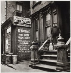 by Lee Sievan, Owner Moves You Free, 1940s - New York