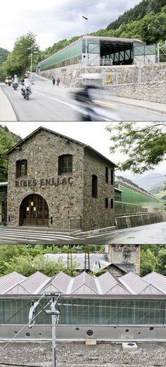 Train Store (Ribes de Freser, #spain) by SAU Taller d'Arquitectura #architecture