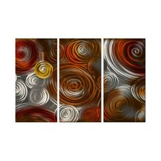 Cosmic Cluster IV Metal Wall Art - 38W x 23.5H in. - ABS00247
