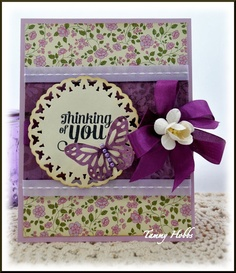 Thinking of You by Tammy Hobbs @ Creating Somewhere Under The Sun for The Ribbon Reel (UK)