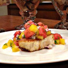 10-Minute Healthy Recipe: Watermelon Salsa #healthy #summer