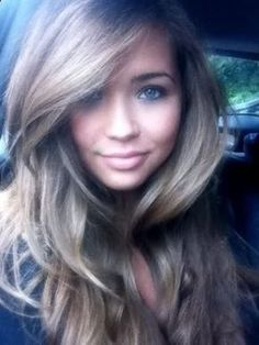 cute bangs for long hair 16 Great ideas of long hair with