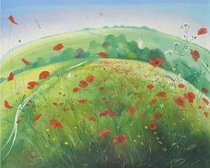 A Field of Poppies  (Nicholas Hely Hutchinson)