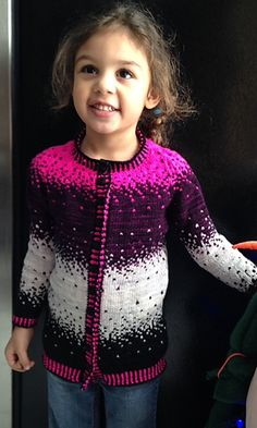 Ravelry: Sugar Plum Cardigan pattern by Jennifer Beaumont Sugar Plum Fairy, Cardigan Pattern, Ravelry, Christmas Sweaters, Needlework, Knit Crochet, Knitting, Children, Fun