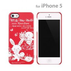Wish Me Mell Meets Karel Capek iPhone 5 Case (Red)