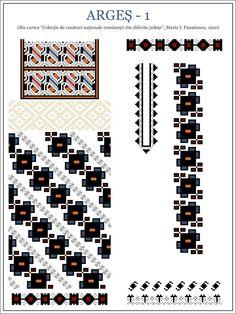 Cross Stitch Borders, Cross Stitching, Cross Stitch Patterns, Folk Embroidery, Embroidery Patterns, Popular Costumes, Color Psychology, Beading Patterns, New Tattoos