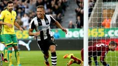 Dwight Gayle scores the winner as Newcastle United fight back from 3-1 down against Norwich to win 4-3 in the Championship