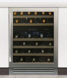 Buy Caple Classic Slot In Under Counter Double Zone Wine Cabinet from Taps UK, UK's specialist kitchen sinks and taps supplier.