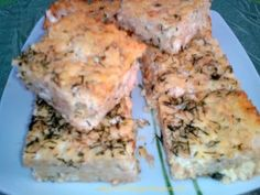 Tortafüggő Marisz: Kapros-túrós tarhonyás sütemény