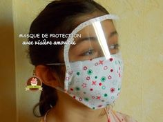 How to make a Protectio Mask Sewing Tutorials, Sewing Hacks, Sewing Crafts, Sewing Projects, Diy Crafts, Easy Face Masks, Diy Face Mask, Sewing Stitches, Sewing Patterns