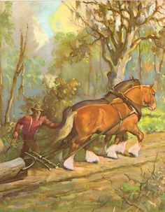 Vintage Horse Print by Artist Wesley Dennis The by gracearchives, $8.00