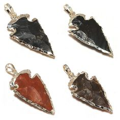 Arrowhead Pendants Handmade Pendants Jasper Pendants Gemstone Pendants Silver Pendants    Handmade    SKU#- SCP323,  Weight- 4.00 Gms.,   Length- 1.75'' inches, Gemstone- Natural Jasper    SKU#- SCP325,  Weight- 4.00 Gms.,   Length- 1.75'' inches, Gemstone- Natural Jasper    SKU#- SCP326,  Weight- 5.00 Gms.,   Length- 1.75'' inches, Gemstone- Natural Jasper    SKU#- SCP327,  Weight- 5.00 Gms.,   Length- 1.75'' inches, Gemstone- Natural Jasper      Note :- Kindly let us know which SKU# you…