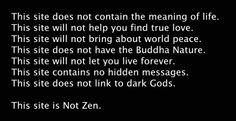 NotZen