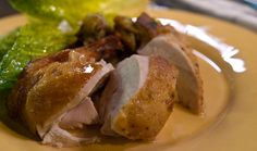Roasted Chicken with Za'atar Stuffing — Avec Eric