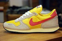Nike Air Vortex Vintage | Chrome Yellow, Pink Flash & Granite