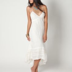 You'll look positively angelic in this frock!
