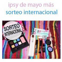 ipsy de mayo más sorteo internacional ^_^ http://www.pintalabios.info/es/sorteos-de-youtube/view/es/119 #Internacional #Sorteo #Maquillaje
